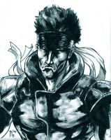 Solid Snake by NicoBlue