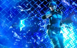 Jill Valentine R E 5 by DANCE-of-COBRA