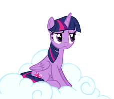 Twilight on a cloud by Names-Tailz