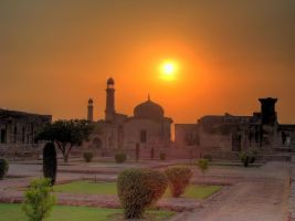 Inside Lahore Fort3 HDR by EmadTaj