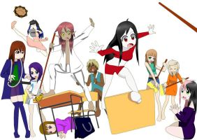 Group picture request by Ritsu-Usami