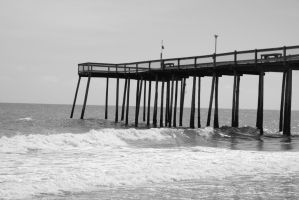 Ocean city MD pier by greenbaypara
