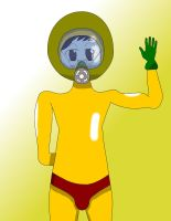 Respirator Suit Davis w Tights and Gloves by Dr-Scaphandre