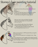 Stormy's Mane Tutorial for GIMP - Part 2 by Stormy-Ways