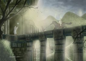 ICO and Yorda and the Druids by Furgur