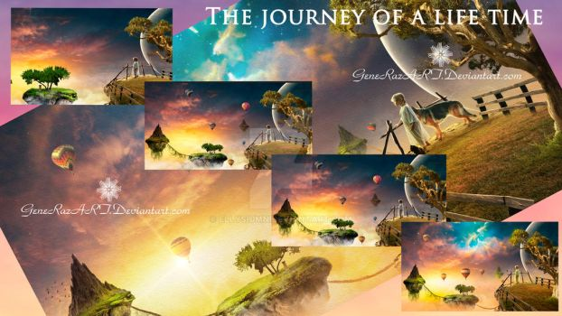 The Journey of a Lifetime ~ Mosaic by GeneRazART