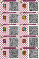 ACNL- Flower and Stairs QR Codes by ACNL-QR-CODEZ