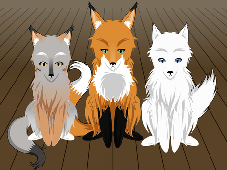 Fox Exports! by Idessa