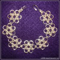 Chain Maille Bracelet by minami63