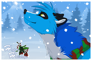 Signs of Snow - Happy holidays by Kairi292