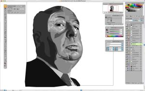 hitchcock wip by blunderbuss78