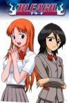 Orihime and Rukia by 1GrayLoverFanGirl