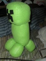 Creeper Plush by HeatherMason76