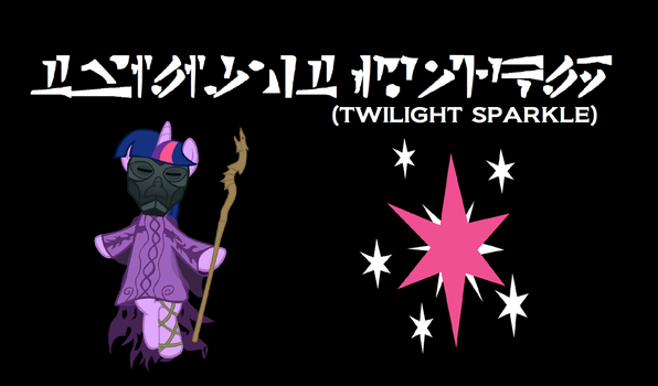 Twilight Sparkle Skyrim Wallpaper by Cyclonus3462