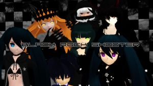 Black Rock Shooter Madness! by Shin001