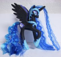 MLP Custom Nightmare Moon by colorscapesart