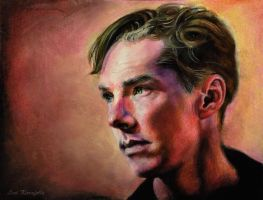 Benedict Cumberbatch by old-ringo