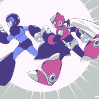 Megaman X and Zero 2 by DevintheCool