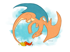 Charizard by Kin-Sei