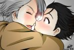 [Yuri!!!On Ice] Viktuuri by KamyGG-Chan