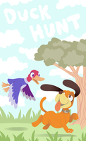 Duck Hunt by Trinosaur