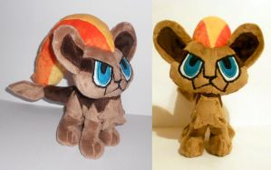 Female Pyroar Plush by Sophillia