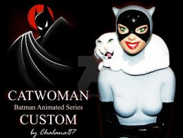 Catwoman Batman Animated Series custom Statue by Chalana87