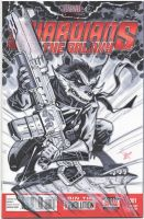 Rocket Racoon cover SDCC 2013 by MichaelDooney