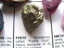 Pyrite. by BabsxStock