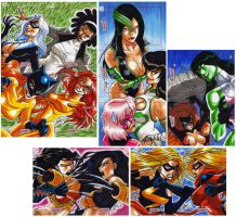 Marvel Dangerous Divas 4 of 4 by eisu