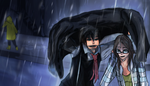 Commission - Rain - Caferrule by InSolem