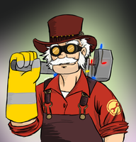 Commish: Nommas Engie by spookyfoxmulder