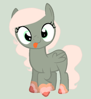 Cute Little Filly by rainbowsandnarwhals