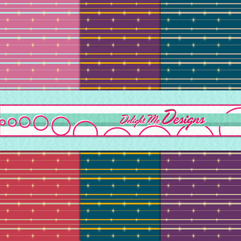 1940s Retro Wallpaper Digital Scrapbook Paper by MissJessicaJean