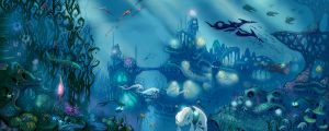Underwater city by mDiMotta