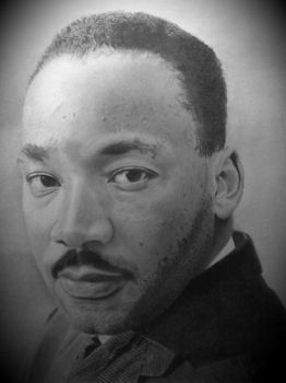 Dr. Martin Luther King Jr. by DarnellDorsey