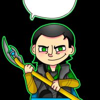 God of mischief - Loki by M0nzteer