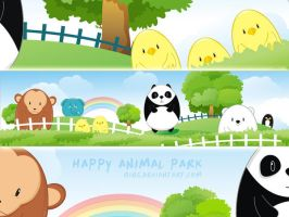 happy animal park 01 by qins