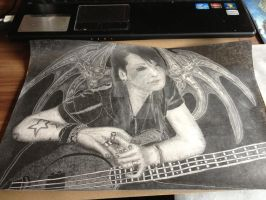 Ashley Purdy FanArt II. (~Black Veil Brides~) by CTFiction
