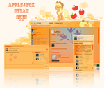Applejack Steam Skin v1.5 by RevolutionGG
