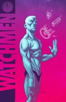 Dr-Manhattan by Marcelo-Costa
