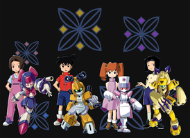 Medabots 00 by Narusailor