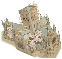 Cathedral Builders - Cutaway by hesir