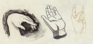 Hand Studies (2012) by Fy-na
