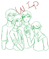 Family Picture -WIP- by Purple-PandaHero