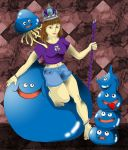 The Slime Queen... by Jaibyrd