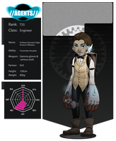 A-GENT T25 - The Professor by Death-by-Papercuts