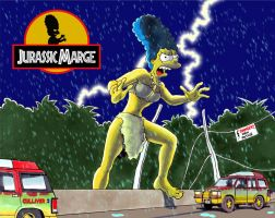 Jurassic Marge: The Breakaway by Gulliver63
