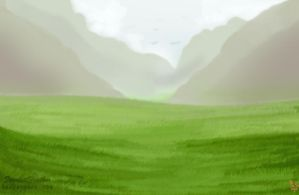 .Small Valley. Free Chatlands Room by ScarlettFeather