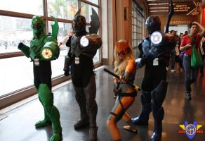 Young Justice Group Cosplay - NYCC 2013 by ConMenWebSeries
